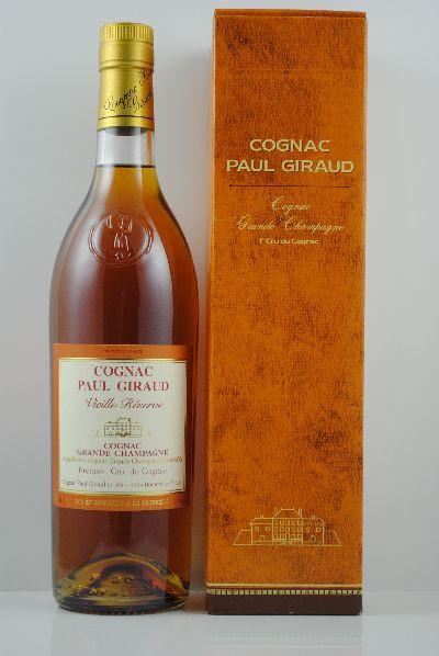 Cognac Vieille Réserve, Paul Giraud